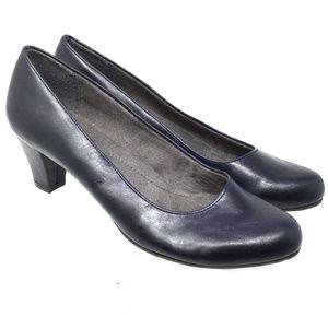 A2 by Aerosoles Women's 8.5 Black Redwood Heels